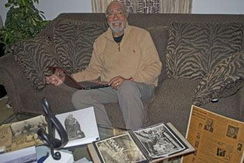 Clifford Cotton, grandson of EW Pearson.      Photo: Urban News