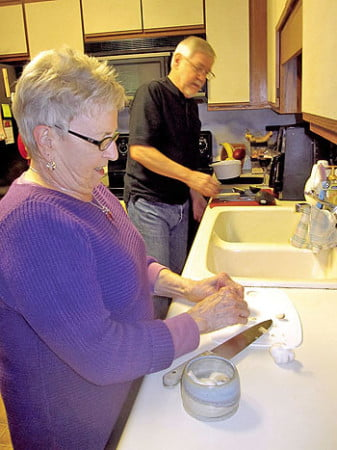 Bob and Beth have plenty of time to do the things they enjoy, such as cooking for themselves.