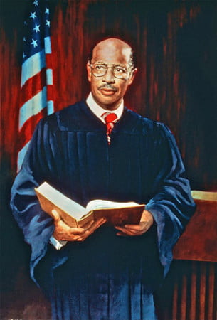 Painting of Judge Richard C. Erwin.   Photo: Urban News