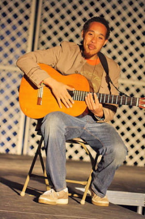 Jonathan Santos is a talented singer and songwriter.