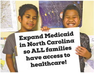 Many children are left with a gap in health coverage until North Carolina implements the necessary coverage for Medicaid.