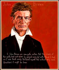 John Brown, portrait by Robert Shetterly