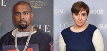 Kanye West / Lena Dunham