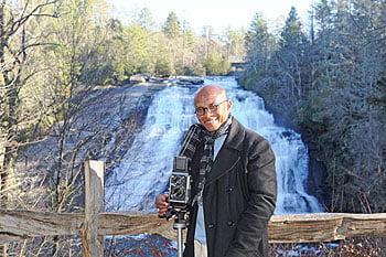 David Pickett at High Falls