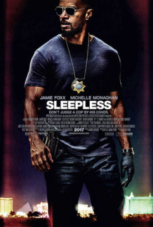 Jamie Foxx in Sleepless.