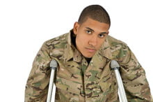 Veterans often face service-connected medical problems but don't consider themselves disabled, at least in spirit.