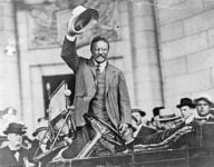 Teddy Roosevelt was a strong advocate of progressive taxes.   Photo: Shutterstock