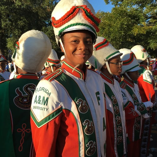 Florida A&M Selects First Female Drum Major