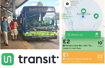 New Real-Time App for Asheville Transit Riders