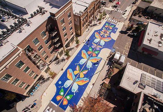 Street Tweaks Project in Downtown Asheville
