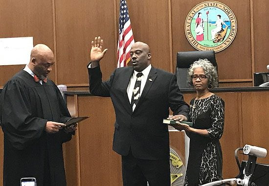 Quentin Miller's Swearing in Ceremony