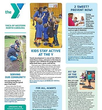 YMCA News: January 2019