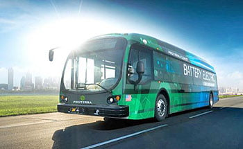City Buses Go Green