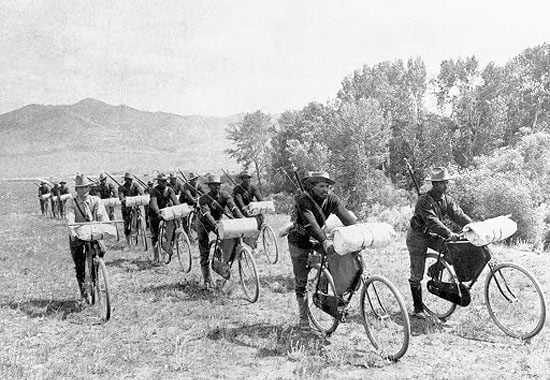 All-Black 25th Infantry Bicycle Corps