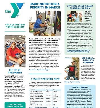 YMCA News: March 2019