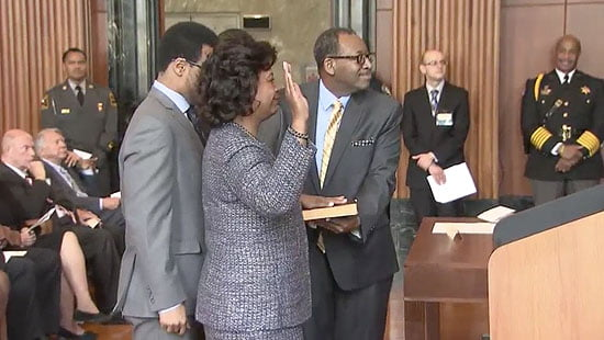 History is Made With Investiture of Chief Justice Cheri Beasley