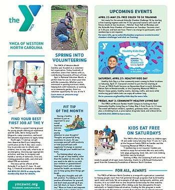 YMCA News: April 2019