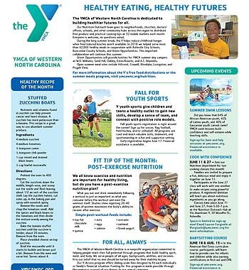 YMCA News: June 2019