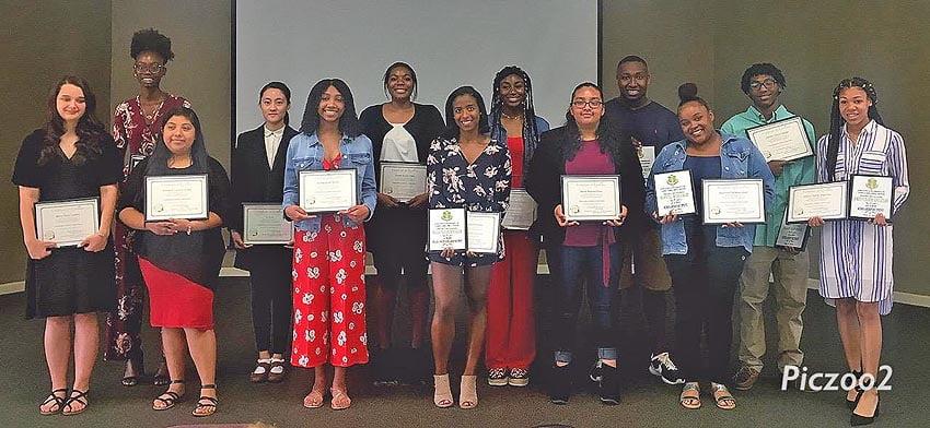 Senior Appreciation Day 2019 students