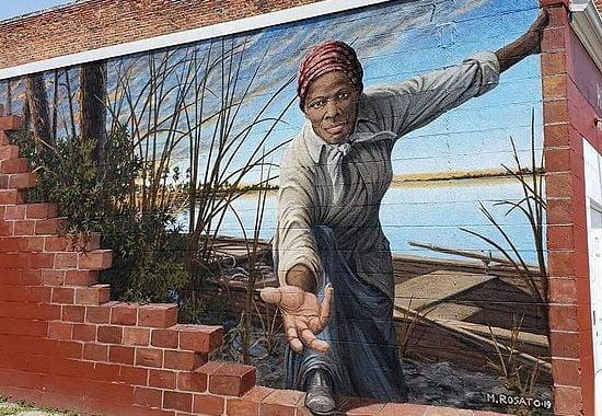 New Mural of Harriet Tubman