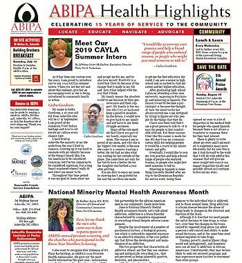 ABIPA Health Highlights – July 2019