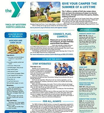 YMCA News: July 2019