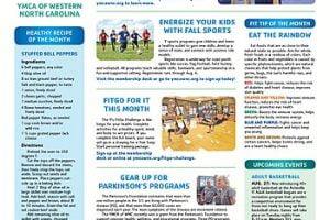 YMCA News: August 2019