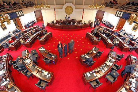 North Carolina's State Senate chamber