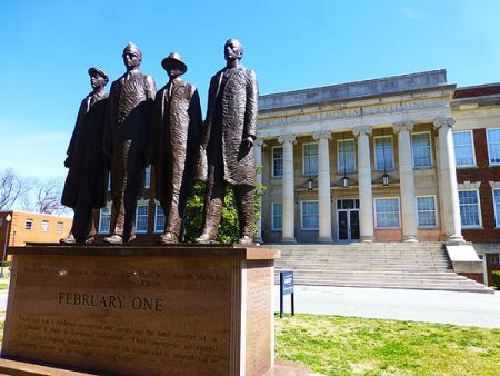 North Carolina A&T dudley memorial