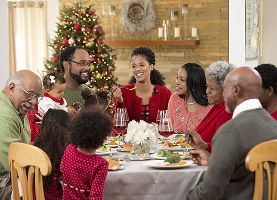 black family christmas