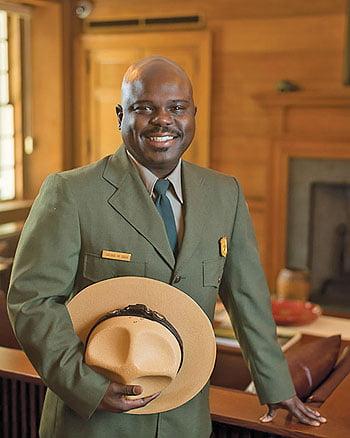 Park Superintendent Cassius Cash