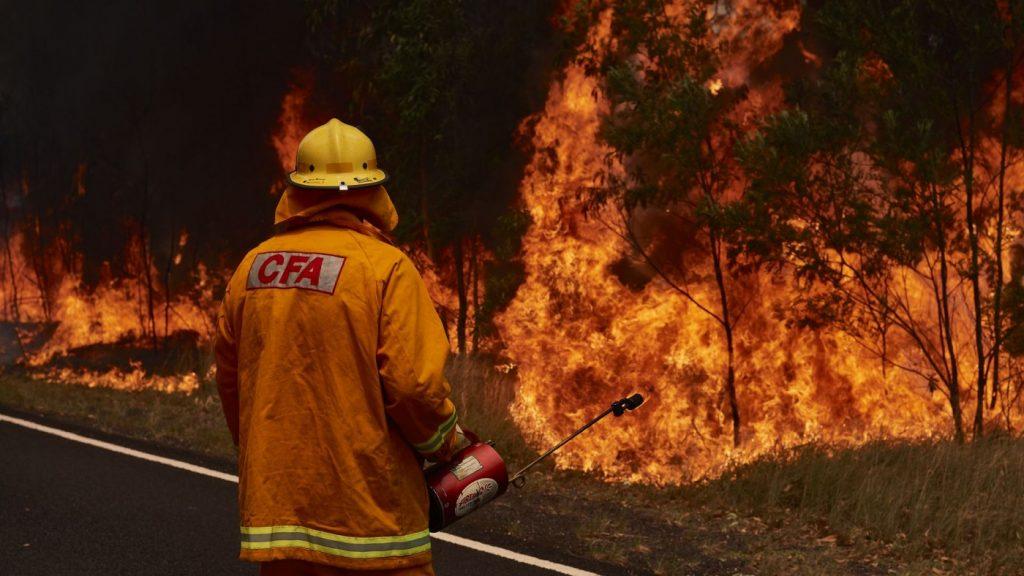 australia firefighter