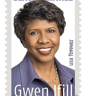 New Gwen Ifill Stamp