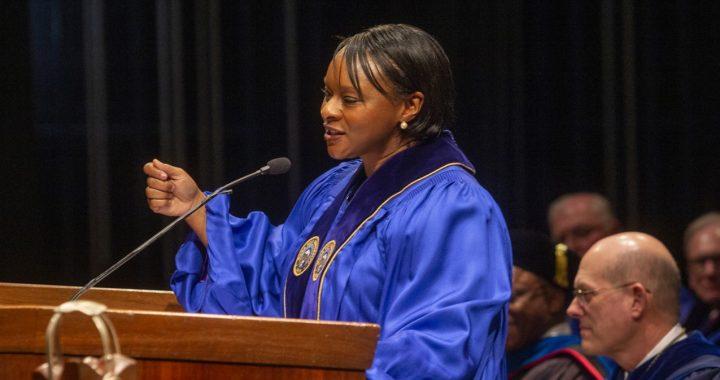 Terry Bellamy Urges MHU Graduates to Find Their Own Calcutta