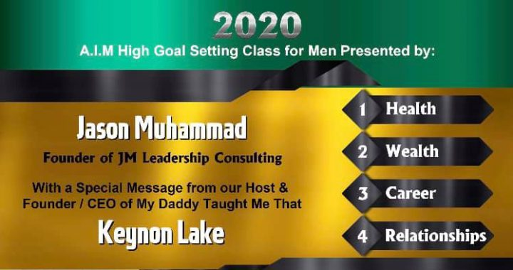A.I.M. High Vision Board & Goal Setting Class