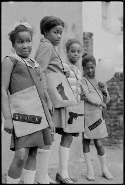 Black Panther School Bags (1970) Photographer: Neil Kenlock