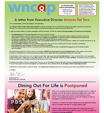 WNCAP News: April 2020