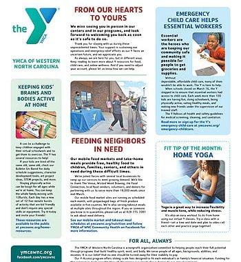 YMCA News: May 2020