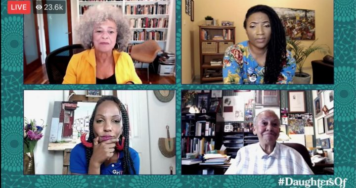 Angela Davis and Nikki Giovanni Live Discussion