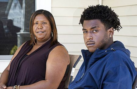 Monica Shepard and her son Dameon
