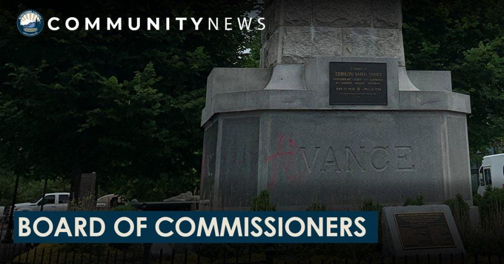 vance monument commission
