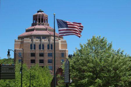 AVL City Hall flag