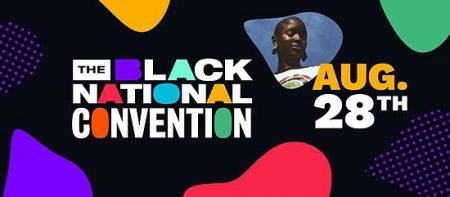 Black National Convention banner