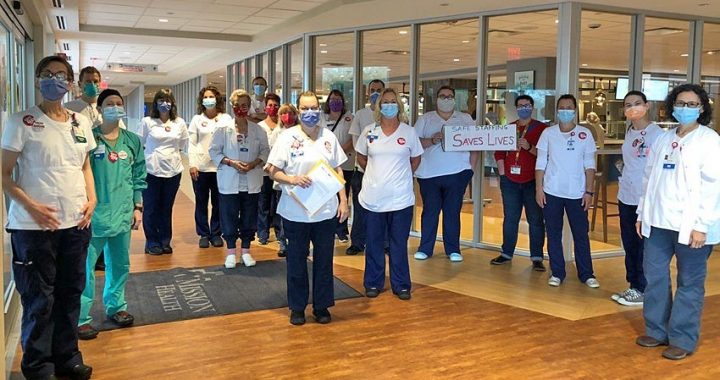 Mission Nurses Protest Staffing Levels in July 10 Action