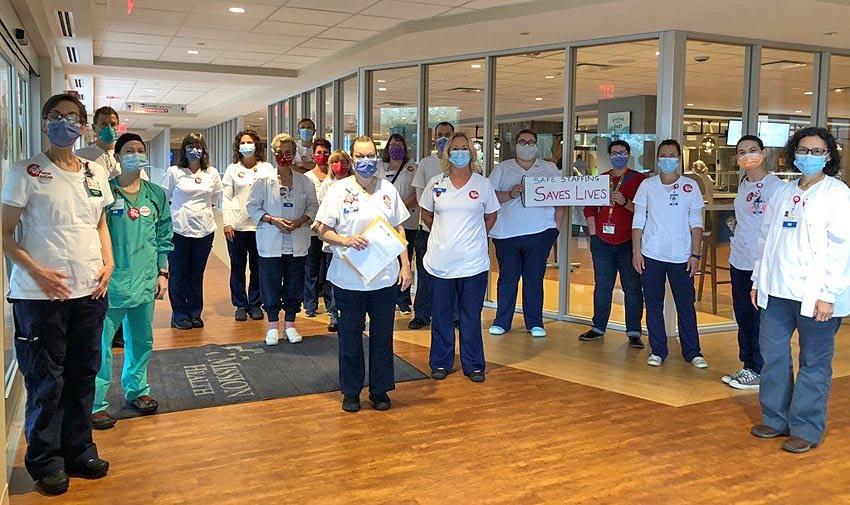 Nurses at Mission Hospital