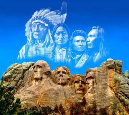 Mount Rushmore, a popular tourist attraction, is located in the Black Hills, which the Sioux tribes consider to be sacred and have territorial claims to.