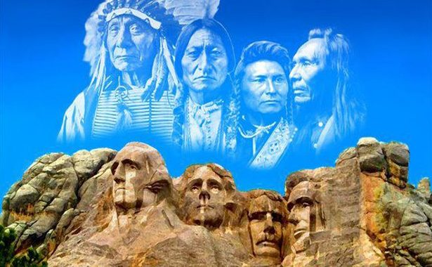 Chair of the Cheyenne River Sioux Offers to Rip Down Mount Rushmore
