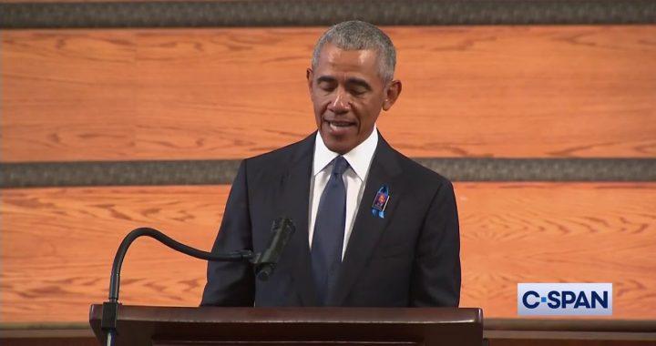 Obama Delivers Eulogy for John Lewis