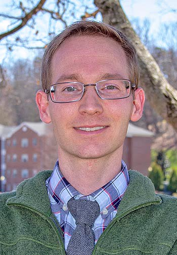 Jeddidiah W.D. Griffin, assistant professor of biology at Mars Hill University