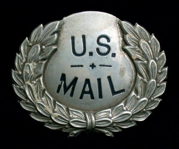 US mail medallion